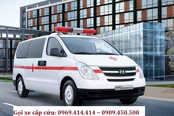 Gọi xe cấp cứu: 0969.414.414 – 0909.450.500